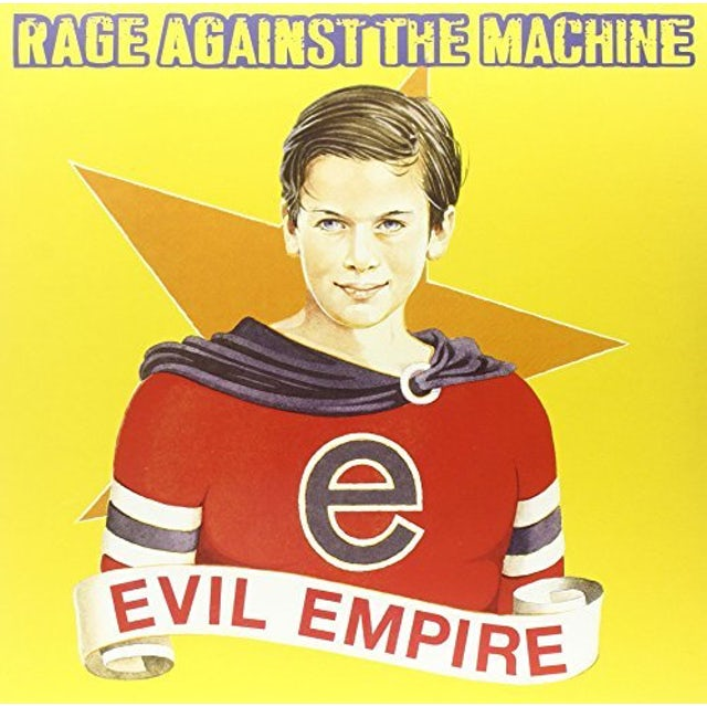 Rage Against The Machine EVIL EMPIRE (COLOR VINYL) Vinyl Record