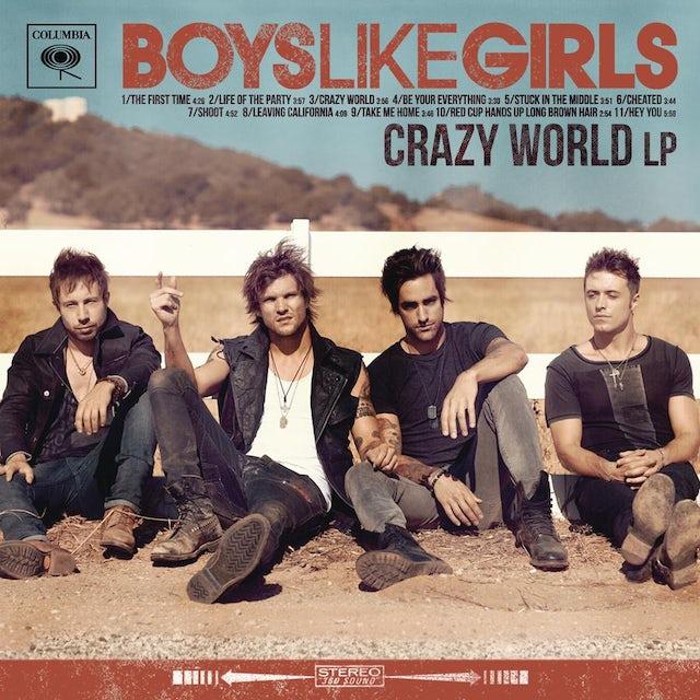 Boys Like Girls CRAZY WORLD CD