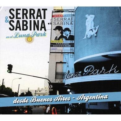 Serrat & Sabina SERRAT Y SABINA EN EL LUNA PARK CD
