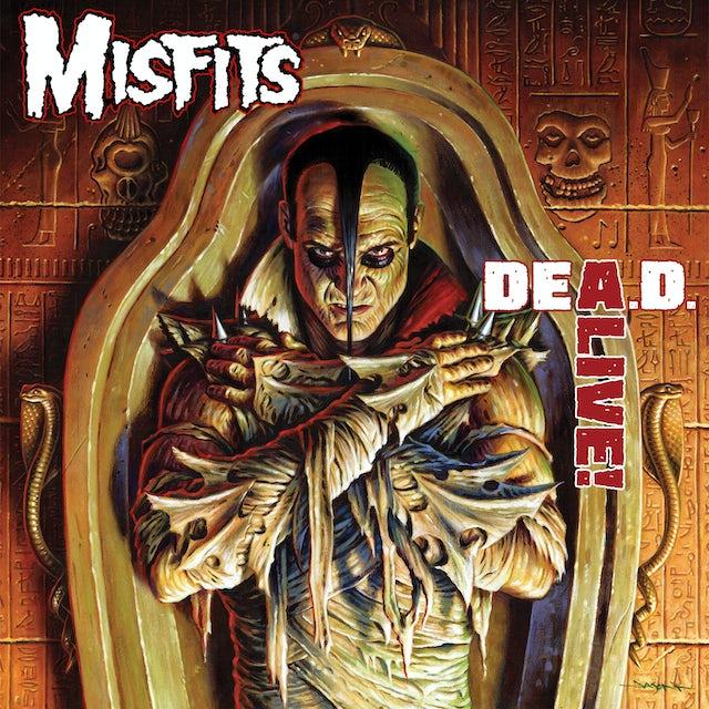 The Misfits DEA.D. ALIVE CD