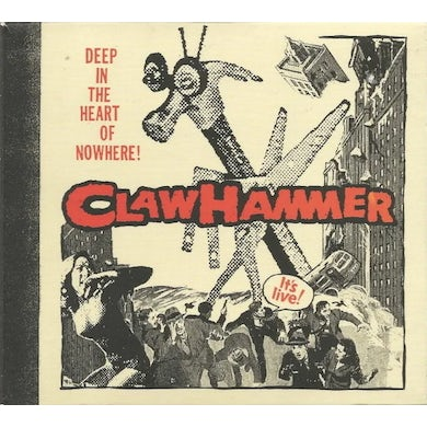 Clawhammer DEEP IN THE HEART OF NOWHERE Vinyl Record