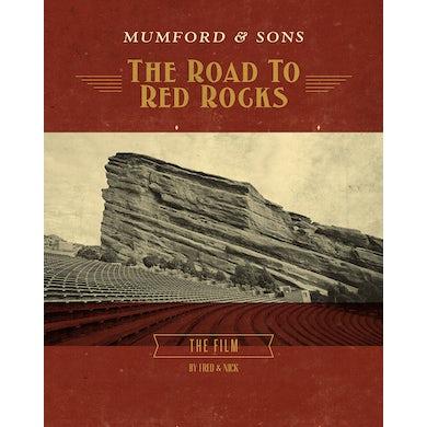 Mumford & Sons ROAD TO RED ROCKS Blu-ray