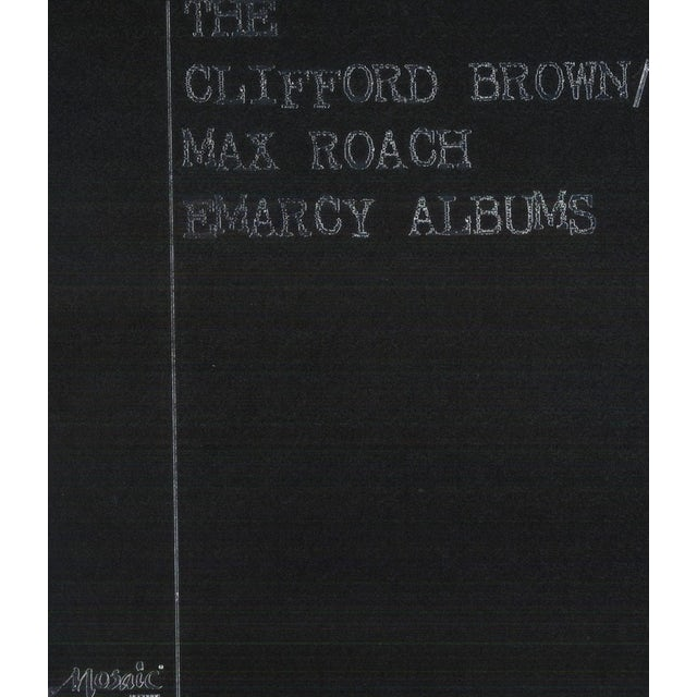 Clifford Brown & Max Roach CLIFFORD BROWN / MAX ROACH EMARCY ALBUMS Vinyl Record