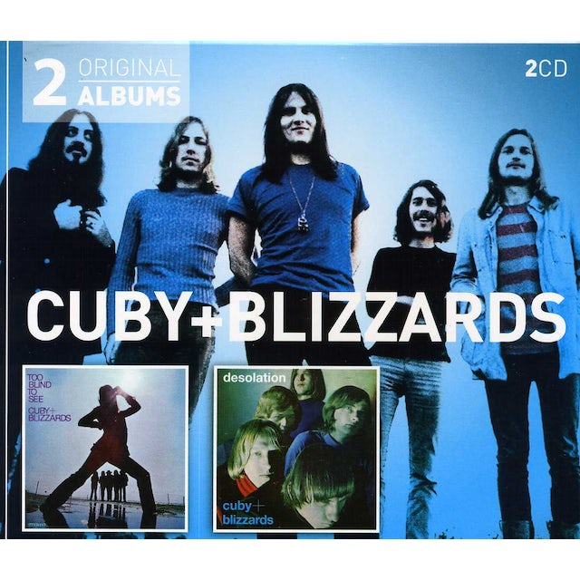 Cuby & The Blizzards TOO BLIND TO SEE / DESOLATION CD