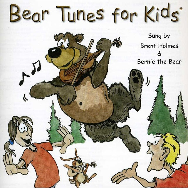 Brent Holmes AK BEAR TUNES FOR KIDS CD