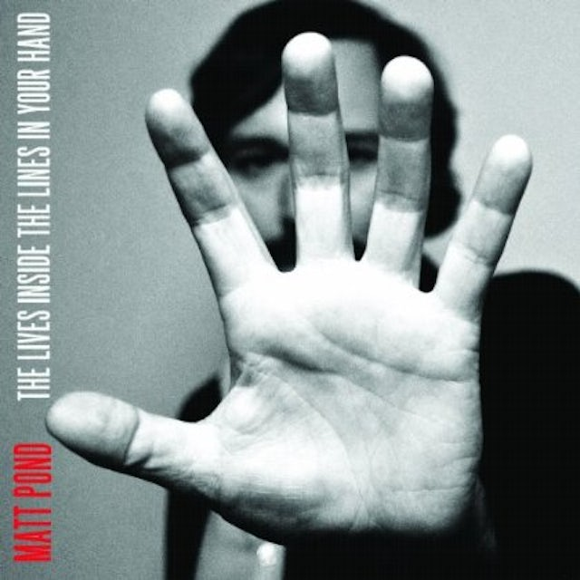 Matt Pond LIVES INSIDE THE LINES IN YOUR HAND CD