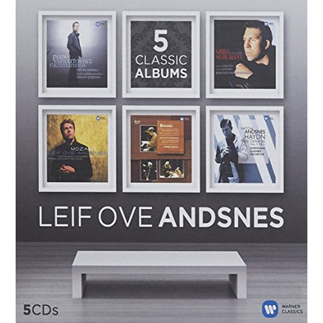 Leif Ove Andsnes 5 CLASSIC ALBUMS CD