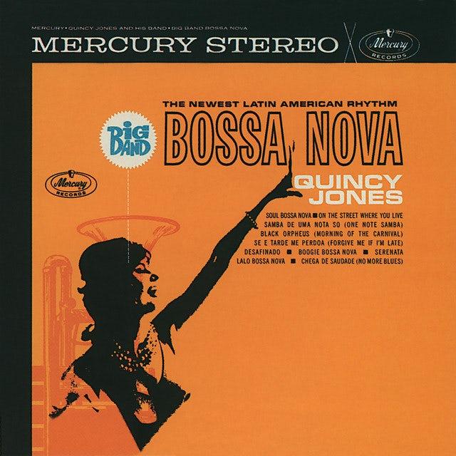 Quincy Jones BIG BAND BOSSA NOVA (BONUS TRACK) Vinyl Record - 180 Gram Pressing