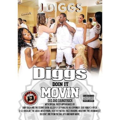 DIGGS DOIN IT MOVIN DVD