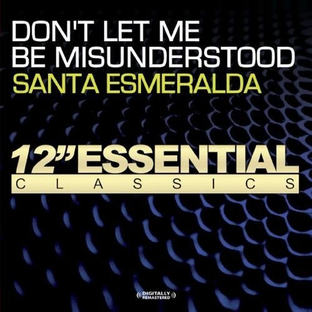 Santa Esmerelda DON'T LET ME BE MISUNDERSTOOD CD