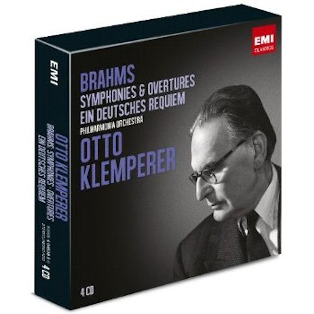 Otto Klemperer BRAHMS: SYMPHONIES EIN DEUTSCH CD