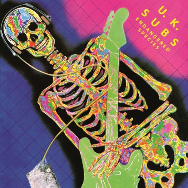 U.K. Subs ENDANGERED SPECIES Vinyl Record