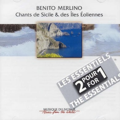 Benito Merlino SONGS OF SICILY & AEOLIAN ISLANDS CD