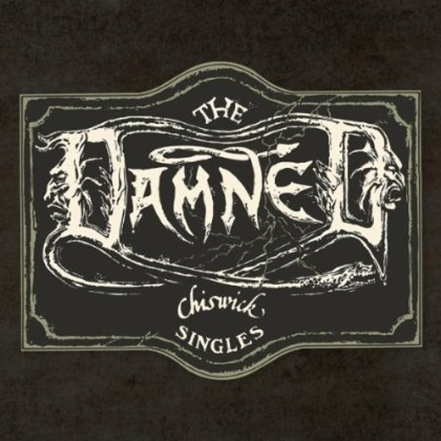 The Damned CHISWICK SINGLES Vinyl Record