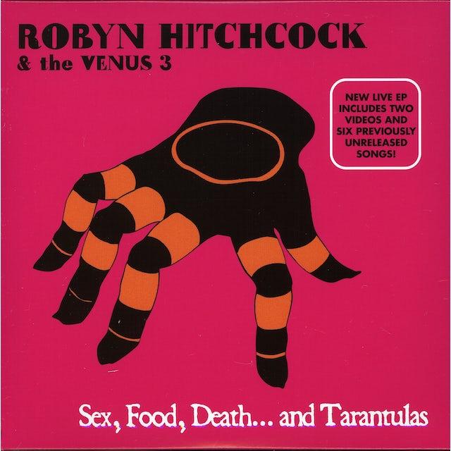Robyn Hitchcock SEX FOOD DEATH & TARANTULAS CD