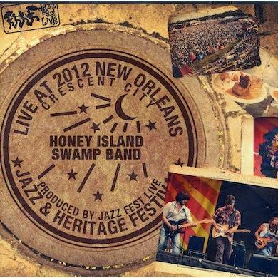 Honey Island Swamp Band LIVE AT JAZZFEST 2012 CD