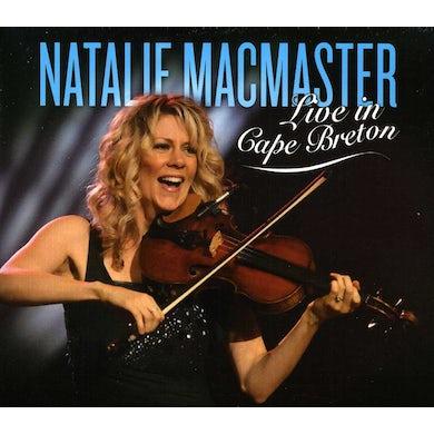 Natalie MacMaster LIVE IN CAPE BRETON CD