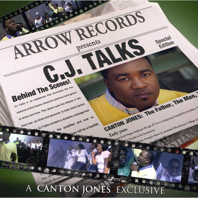 Canton Jones CJ TALKS CD