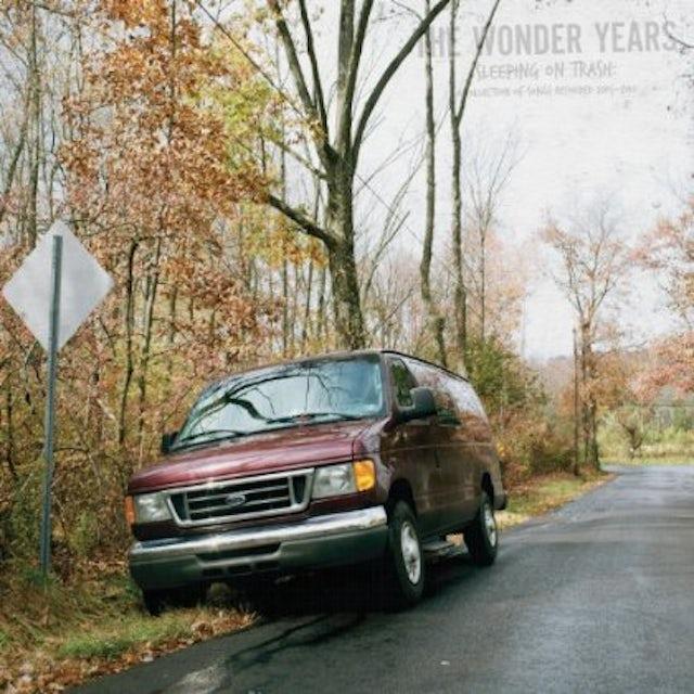 Wonder Years SLEEPING ON TRASH Vinyl Record