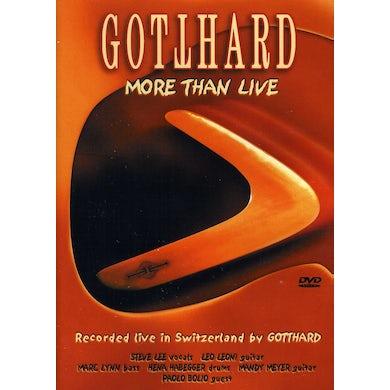 Gotthard MORE THAN LIVE DVD