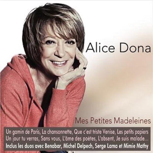 Alice Dona MES PETITES MADELEINES CD