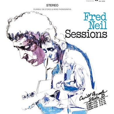 Fred Neil SESSIONS Vinyl Record