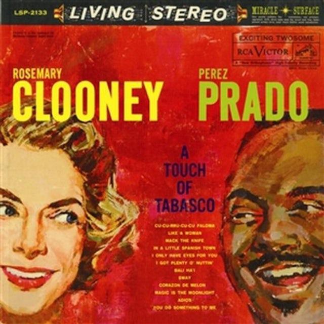 Rosemary Clooney / Perez Prado TOUCH OF TABASCO Vinyl Record