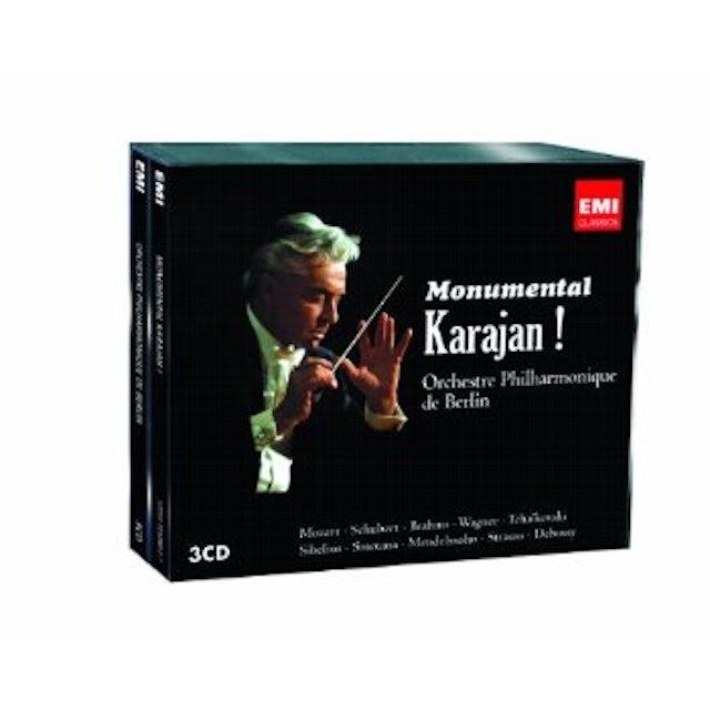 Herbert Von Karajan MONUMENTAL KARAJAN CD