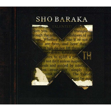 Sho Baraka TALENTED 10TH CD