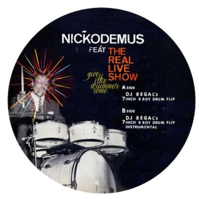 Nickodemus GIVE THE DRUMMER SOME REMIXES Vinyl Record