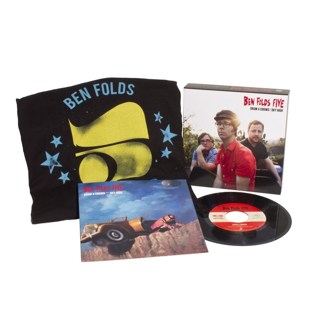 Ben Folds Five DRAW A CROWD / SKY HIGH (LG) (WTSH) Vinyl Record - Collector's Edition