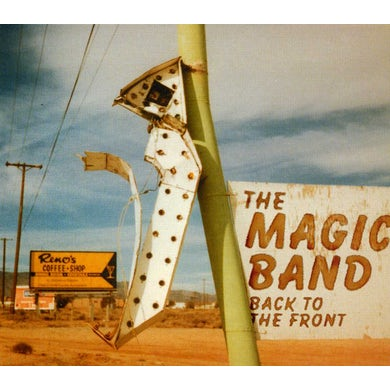 Magic Band BACK TO THE FRONT CD