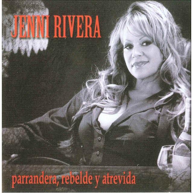Jenni Rivera PARRANDERA REBELDE Y ATREVIDA CD