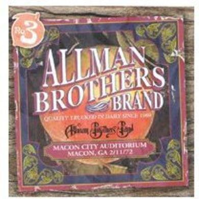The Allman Brothers Band  MACON CITY AUDITORIUM 2/11/72 CD