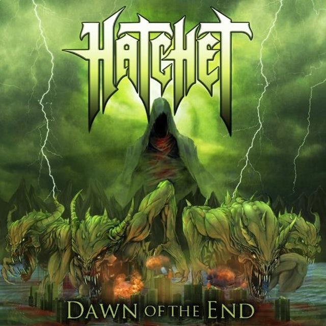 Hatchet DAWN OF THE END CD