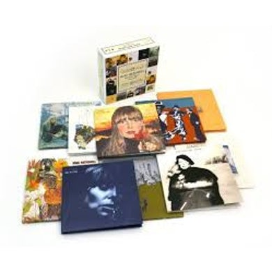 Joni Mitchell STUDIO ALBUMS 1968 - 1979 CD