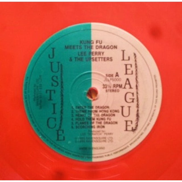 The Upsetters KUNG FU MEETS THE DRAGON Vinyl Record