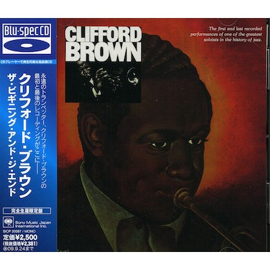 Clifford Brown BEGINNING & THE END CD
