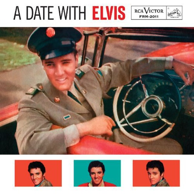 DATE WITH ELVIS Vinyl Record