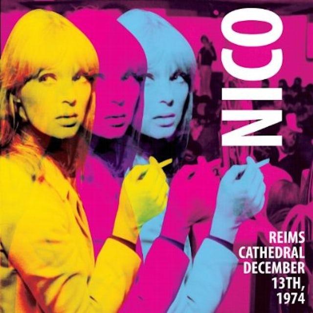 Nico REIMS CATHEDRAL - DECEMBER 13 1974 Vinyl Record
