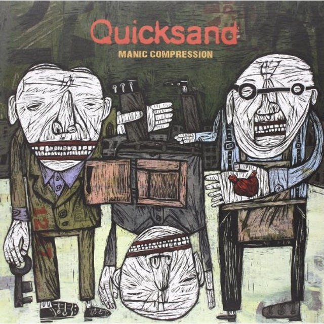 Quicksand MANIC COMPRESSION Vinyl Record