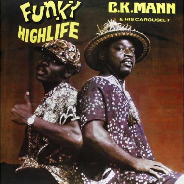 C.K. Mann FUNKY HIGHLIFE Vinyl Record