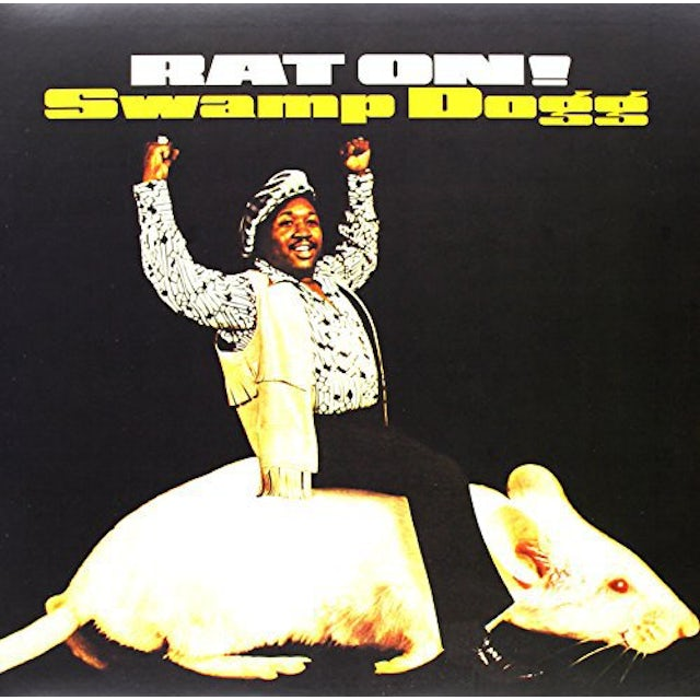 Swamp Dogg RAT ON Vinyl Record