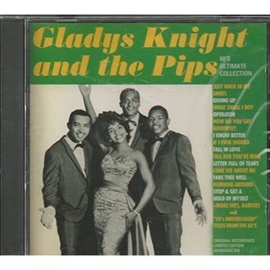 Gladys Knight & The Pips 60'S ULTIMATE COLLECTION CD
