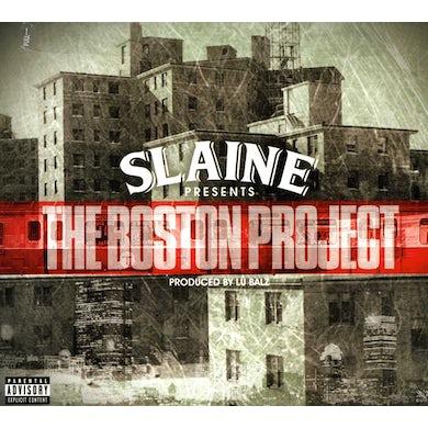 Slaine BOSTON PROJECT CD
