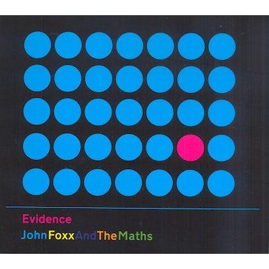 John Foxx & The Maths EVIDENCE CD