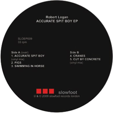 Robert Logan ACCURATE SPIT BOY Vinyl Record