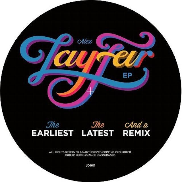Lay-Far EARLIEST THE LATEST & A REMIX Vinyl Record