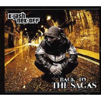 Klashnekoff BACK TO THE SAGAS CD