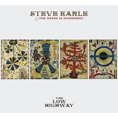 Steve Earle & The Dukes LOW HIGHWAY Vinyl Record